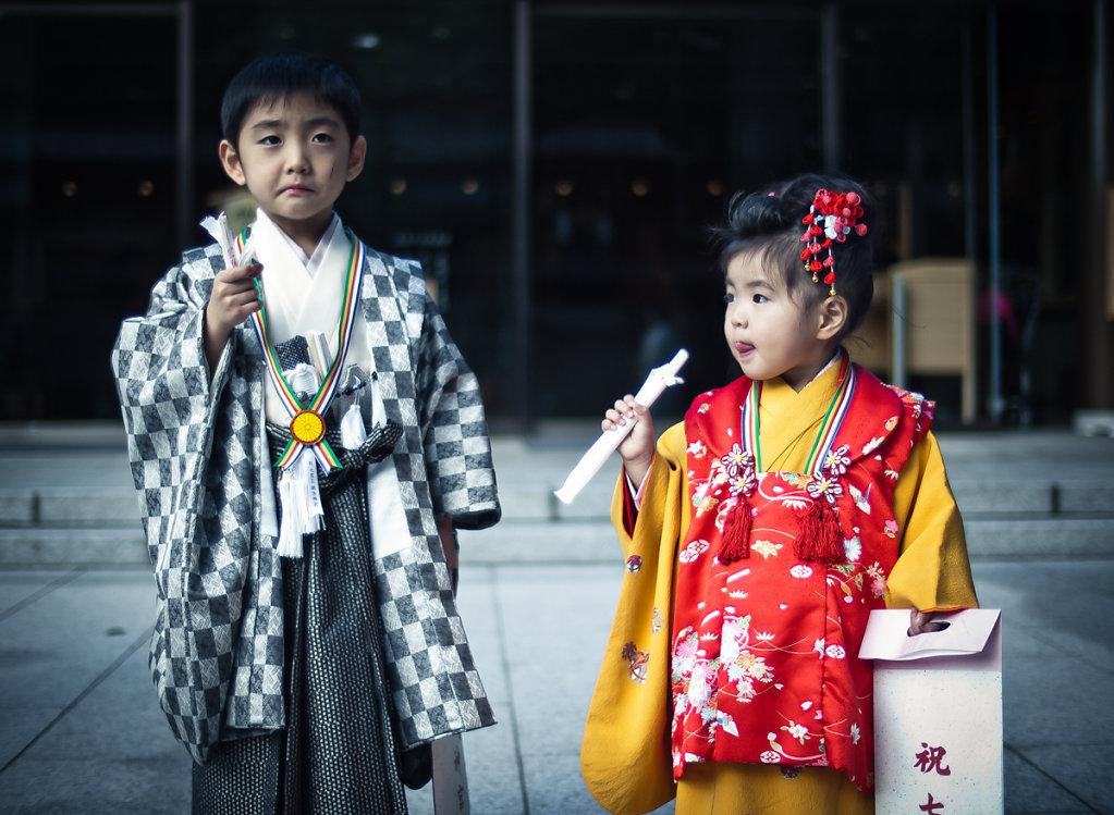 Kimono Kidz, Meiji Shrine 明治神宮