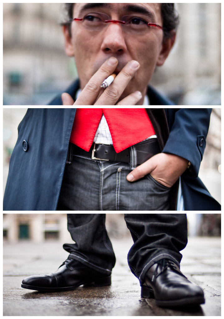 Stranger #11: The prevented Smoker, Paris