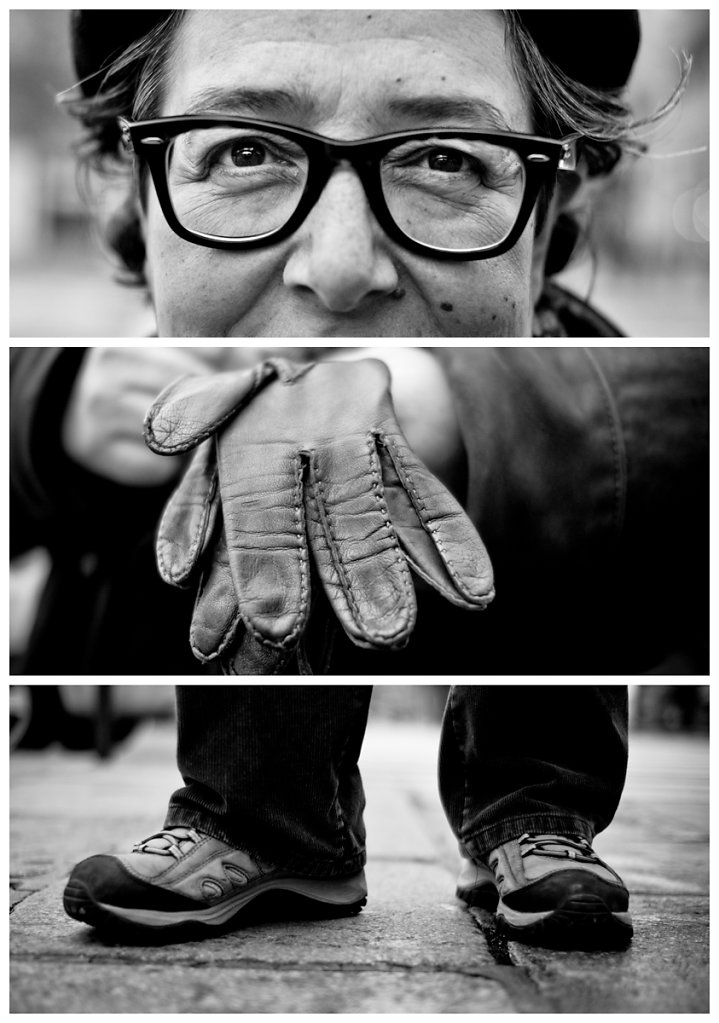 Triptychs of Strangers #10, The Photographer - Paris