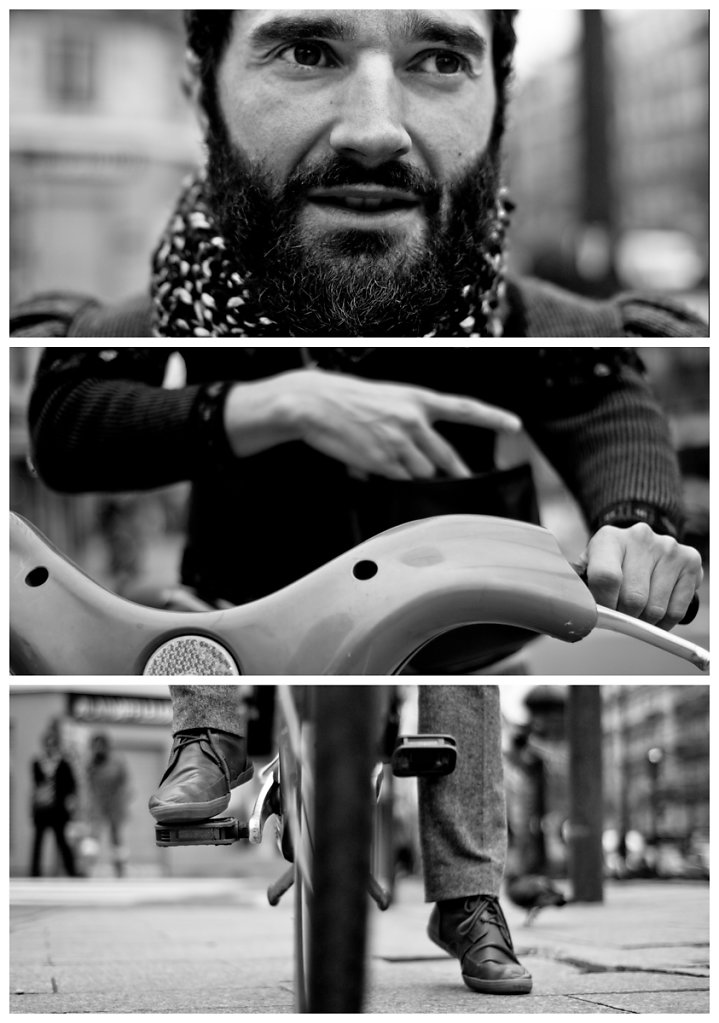 Stranger #7: The Cyclist, Paris