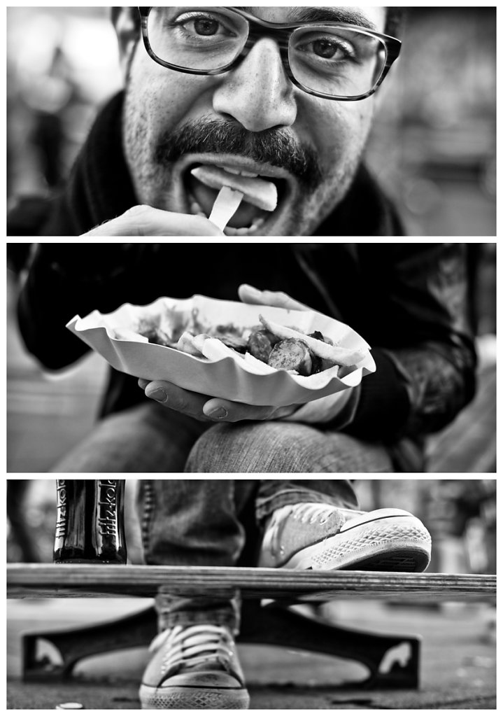 Triptychs of Strangers #11, The Hungry Typograph