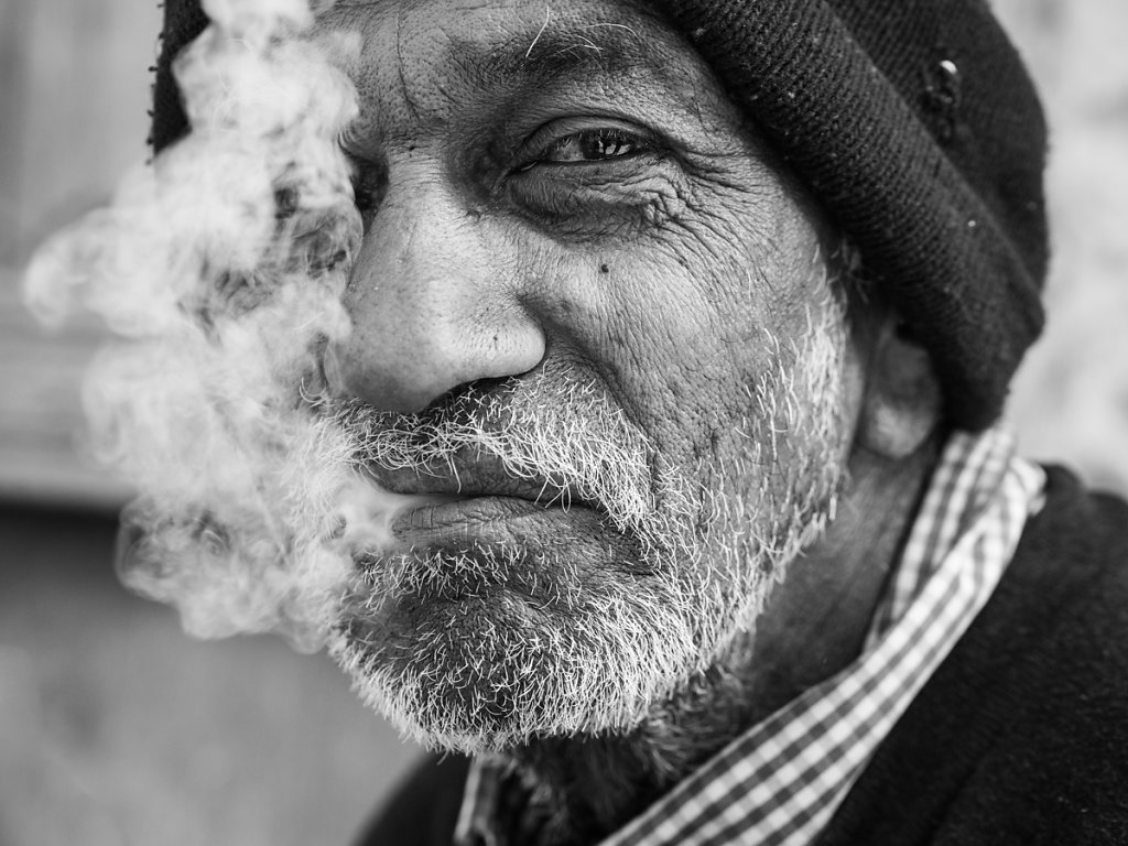Smoking Man, Jodhpur - Rajasthan