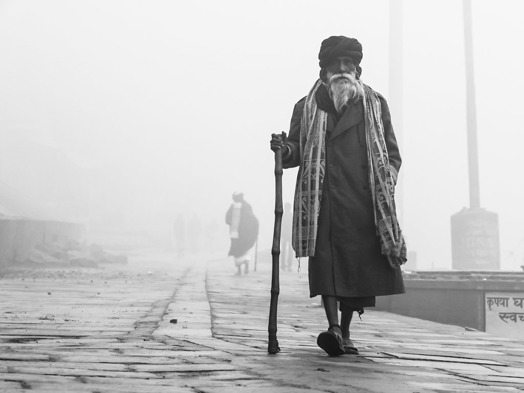 Misty Morning Walk, Varanasi - Uttar Pradesh