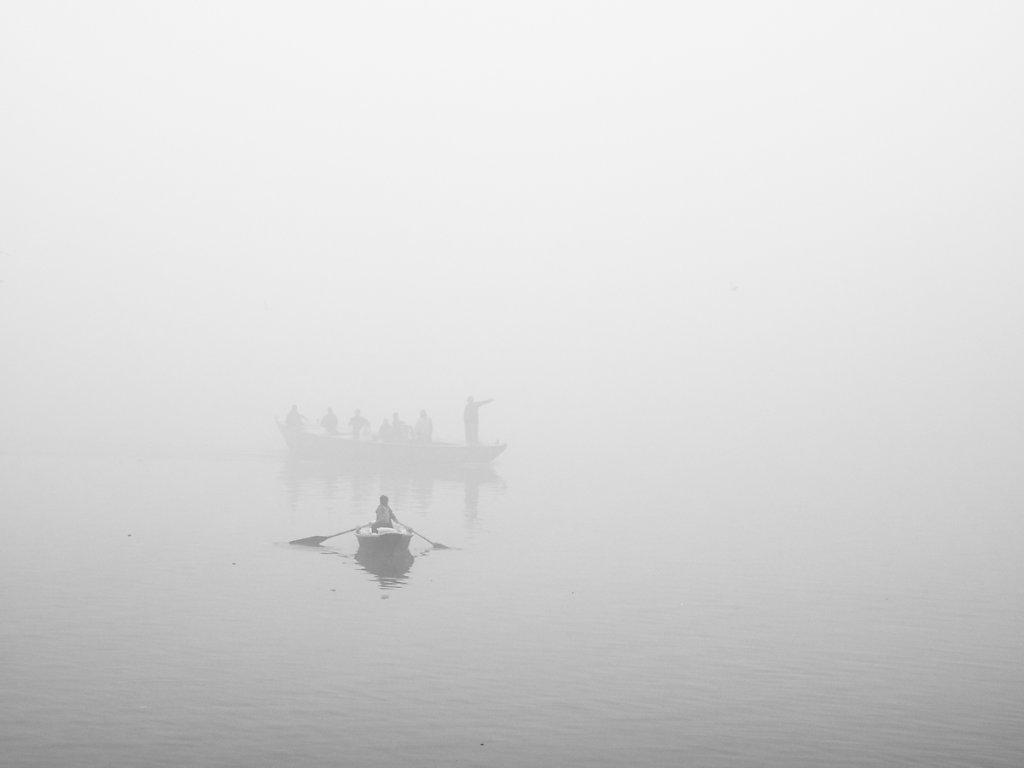 The Fog, Dashashwamedh Ghat - Varanasi - Uttar Pradesh