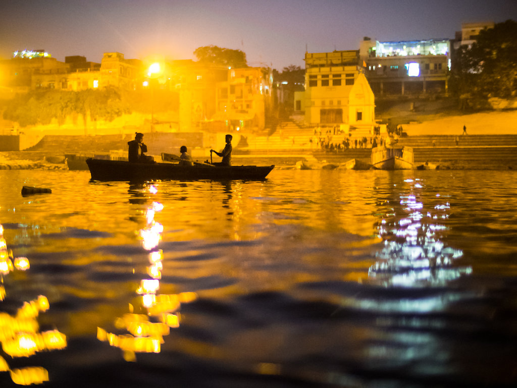 On the Ganges, Varanasi - Uttar Pradesh