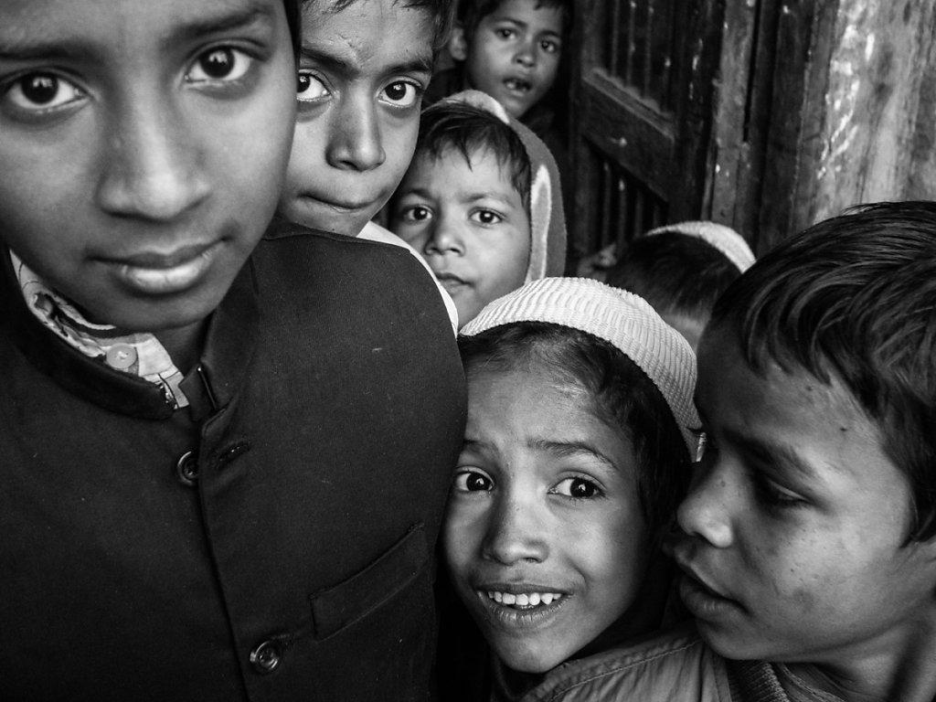 Muslim Kids, Varanasi - Uttar Pradesh