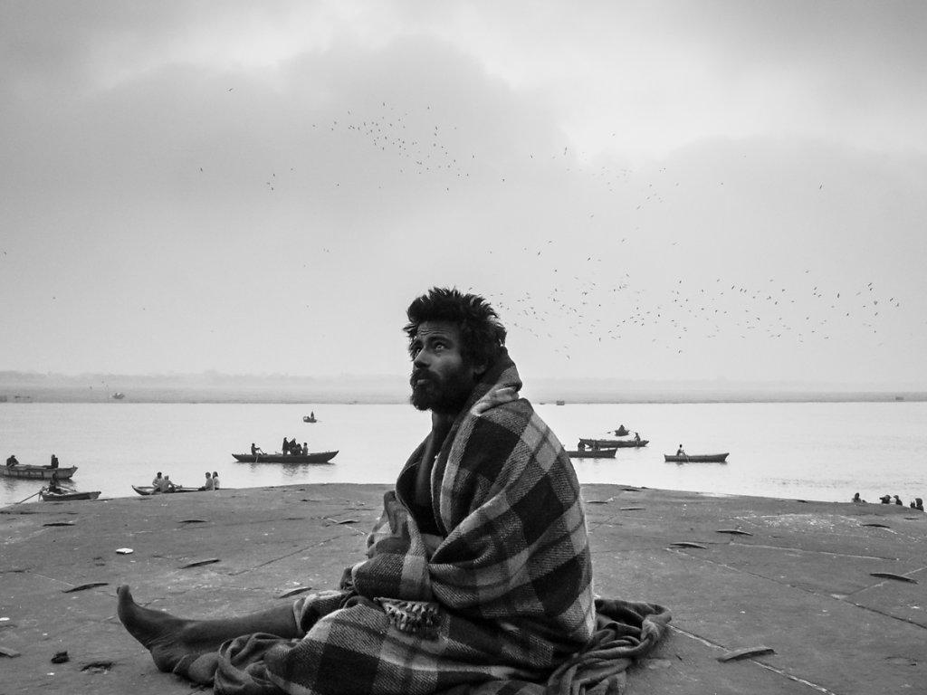 Contemplation, Varanasi - Uttar Pradesh