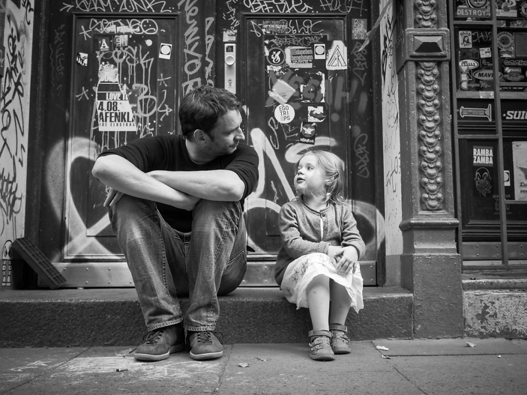 Father and Daughter, Hamburg
