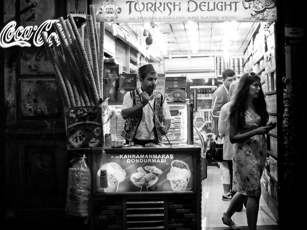 Turkish Delight, Istiklal Caddesi - Istanbul