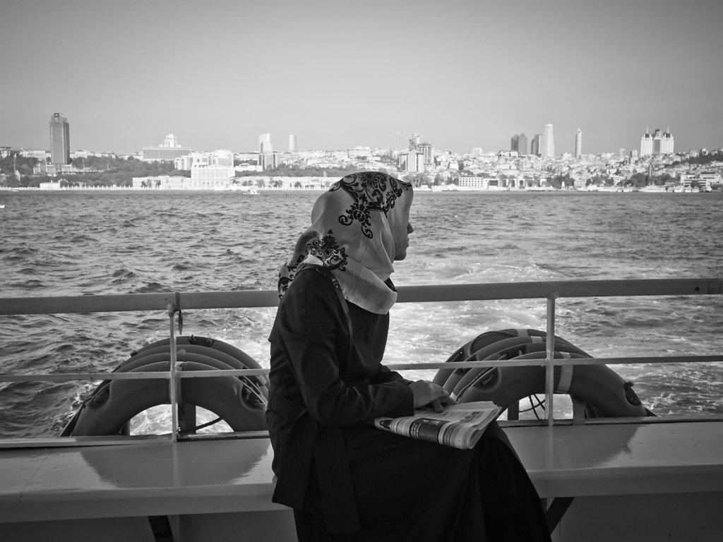 Leaving, Bosporus - Istanbul