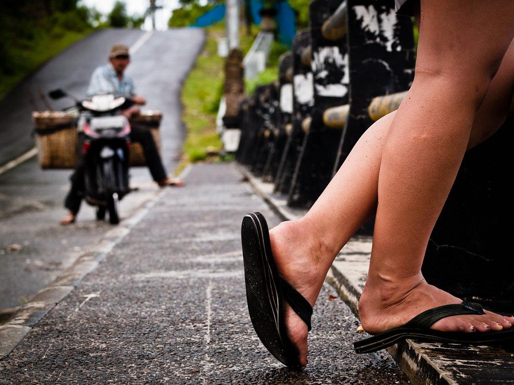 Girl Spoting, Padang Padang - Bali