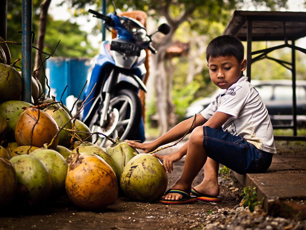 Coconut Madé, Pura Luhur Uluwatu - Bali