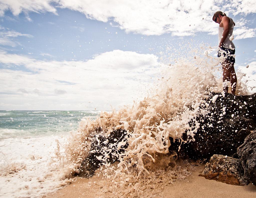 Big Splash, Bali Cliff