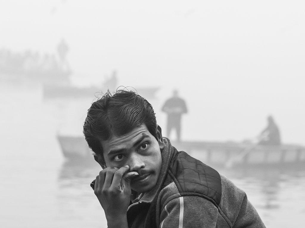 A Thinker, Varanasi - Uttar Pradesh