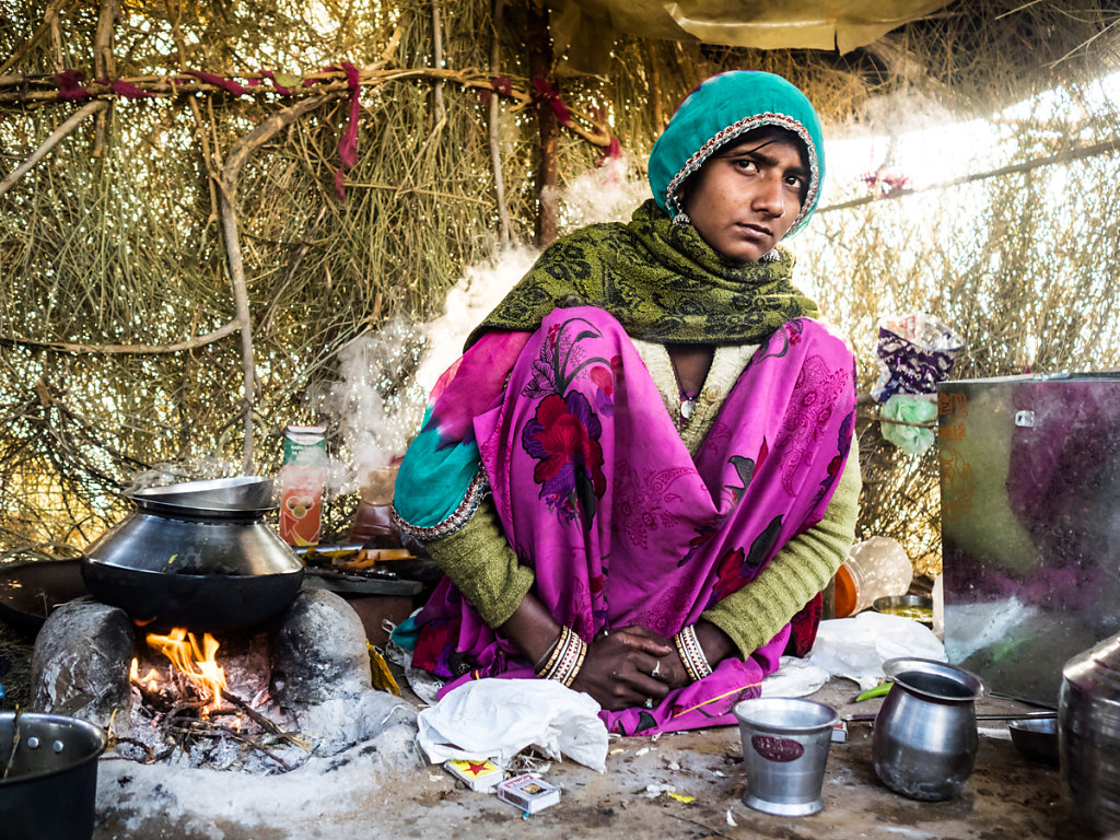 Wife of Baba, Village near Pushkar - Rajasthan