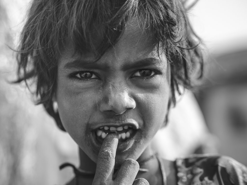 Young Girl in a Village near Pushkar, Rajasthan