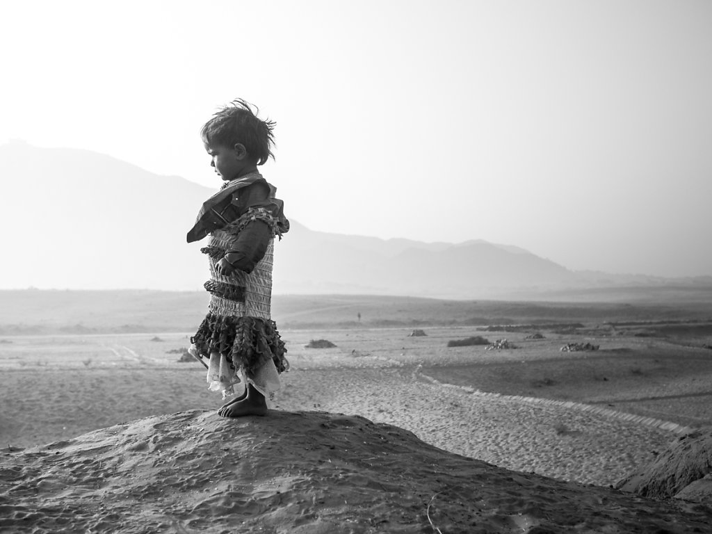 Village Kid III, Pushkar - Rajasthan