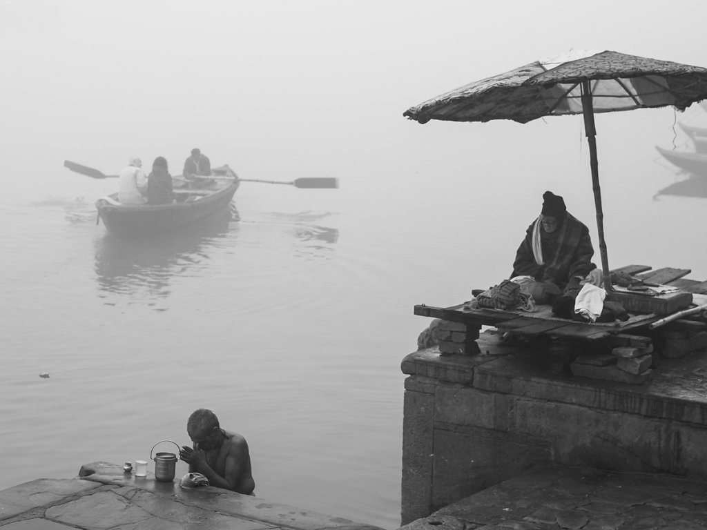 At the Ganges in Varanasi - Uttar Pradesh
