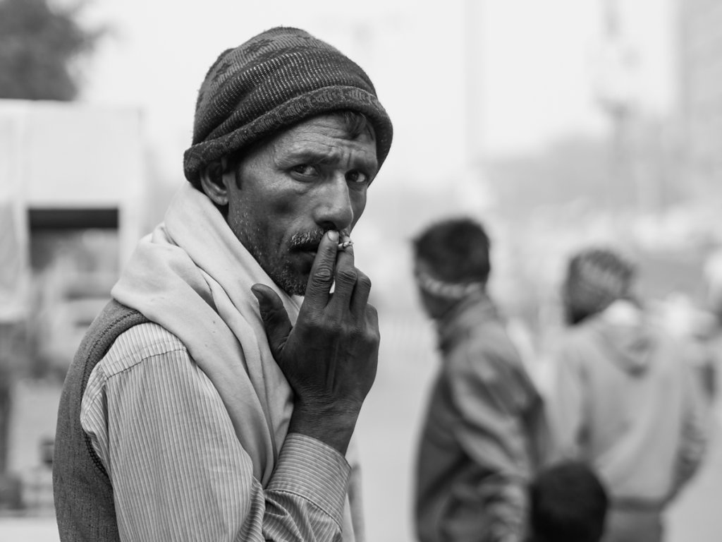 Smoking Dude, New Delhi